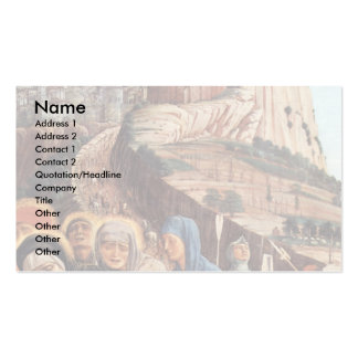 Crucifixion  By Mantegna Andrea Double-Sided Standard Business Cards (Pack Of 100)