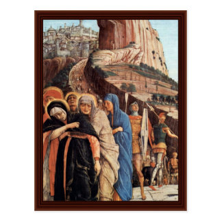 Crucifixion  By Mantegna Andrea Postcards