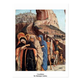 Crucifixion  By Mantegna Andrea Postcard