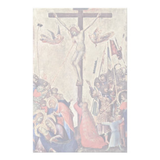 Crucifixion By Martini Simone (Best Quality) Custom Stationery