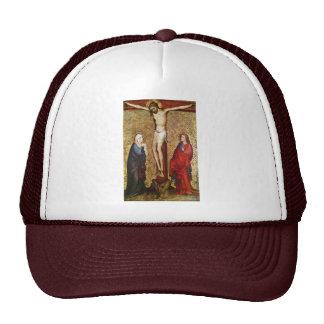 Crucifixion By Meister Des Pähler Altars Best Qua Mesh Hats