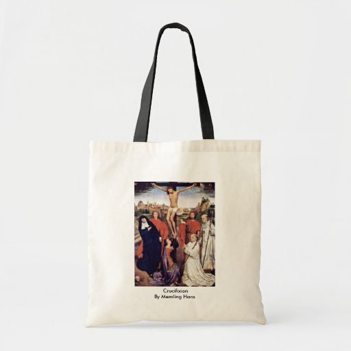 Crucifixion By Memling Hans Budget Tote Bag