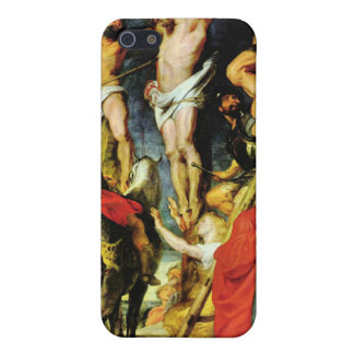 Crucifixion by Paul Rubens iPhone 5 Cases
