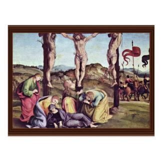 Crucifixion By Signorelli Luca (Best Quality) Post Cards