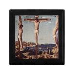 Crucifixión c1455 cajas de regalo