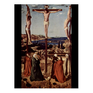 Crucifixion c1455 postcard