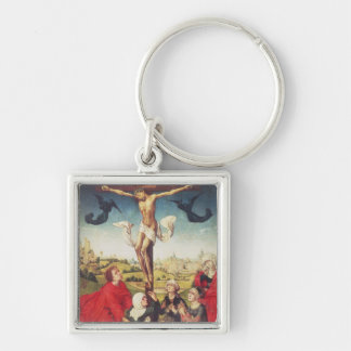 Crucifixion, c.1510 (oil on panel) keychain