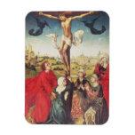 Crucifixion, c.1510 (oil on panel) rectangular photo magnet