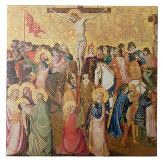 Crucifixion Ceramic Tile