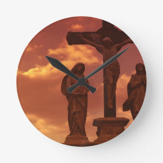 Crucifixion Clock