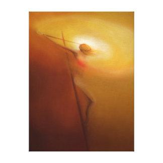 Crucifixión:  Cristo que dibuja todos a sí mismo Impresion De Lienzo