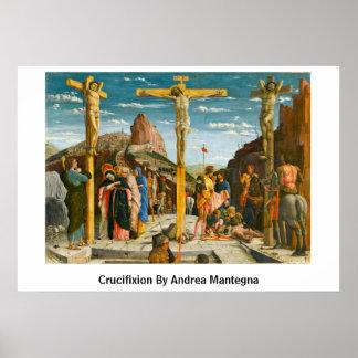 Crucifixión de Andrea Mantegna Póster