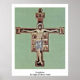 Crucifixión de Coppo Di Marco Valdo Poster