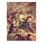 Crucifixión de Cristo de Paul Rubens Postal
