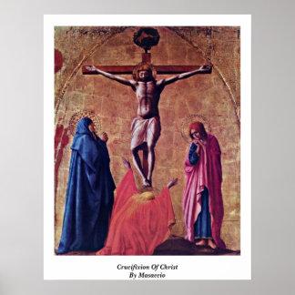 Crucifixión de Cristo por Masaccio Impresiones
