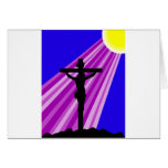 Crucifixión de Jesús Felicitación
