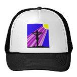 Crucifixión de Jesús Gorros Bordados