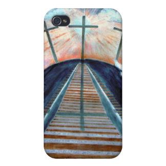 Crucifixión de Jesús Iphone personalizado David 4  iPhone 4/4S Carcasas