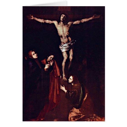 Crucifixión de Jusepe De Ribera Felicitación