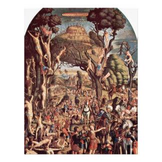 Crucifixión de los diez milésimos en el monte Arar Flyer Personalizado