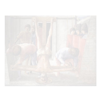 Crucifixión de Masaccio- de San Pedro Membretes Personalizados