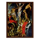 Crucifixión de Rubens Peter Paul (la mejor calidad Postal
