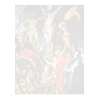 Crucifixión de Rubens Peter Paul (la mejor Membrete Personalizado