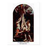 Crucifixión de San Pedro de Guido Reni Tarjetas Postales
