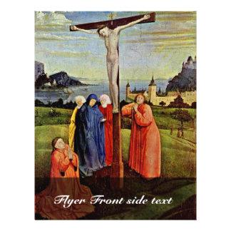 Crucifixión de Witz Conrado (la mejor calidad) Tarjetón