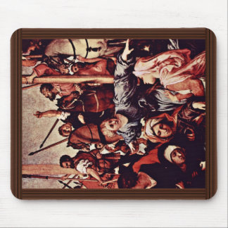 Crucifixion Detail By Lotto Lorenzo (Best Quality) Mousepads