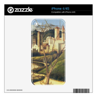 Crucifixion (detail of the background landscape sh decals for iPhone 4