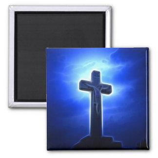 Crucifixión dramática de Jesús Iman De Frigorífico