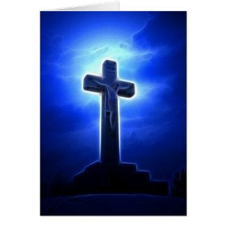 Crucifixión dramática de Jesús Felicitacion