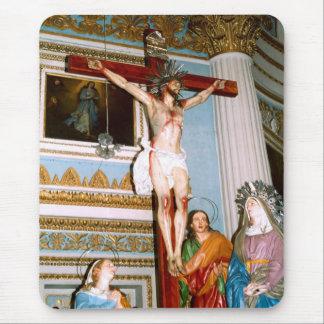 Crucifixión en Malta Tapete De Raton