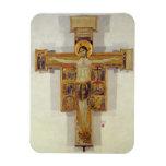 Crucifixión, escuela toscana, segunda mitad del 12 iman rectangular