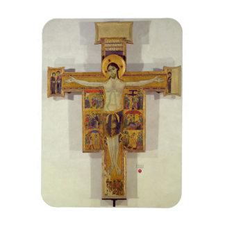 Crucifixión, escuela toscana, segunda mitad del 12 imanes flexibles