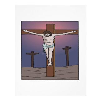 Crucifixión Tarjeta Publicitaria