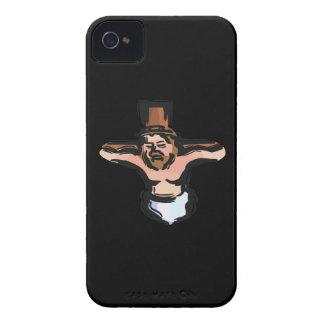 Crucifixión iPhone 4 Case-Mate Cárcasa