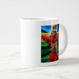 Crucifixion- it is finished 2009 large coffee mug