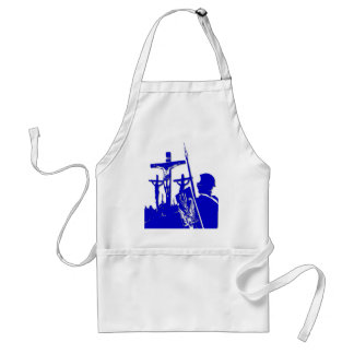 Crucifixion - Jesus on The Cross - Good Friday Aprons