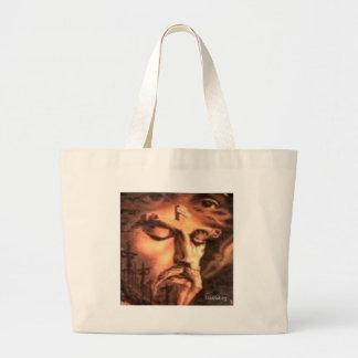 Crucifixion Large Tote Bag
