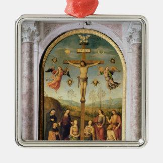 Crucifixion Metal Ornament