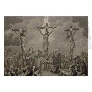 Crucifixion of Christ die Kreuzigung Jesu Christi Card