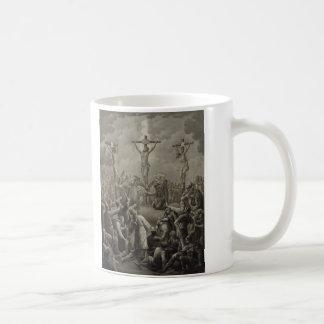 Crucifixion of Christ die Kreuzigung Jesu Christi Coffee Mug