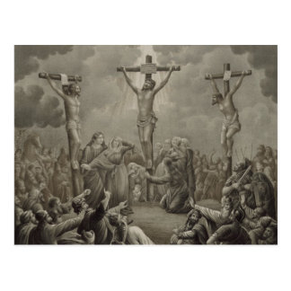 Crucifixion of Christ die Kreuzigung Jesu Christi Postcard