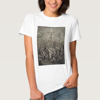 Crucifixion of Christ die Kreuzigung Jesu Christi Tee Shirt