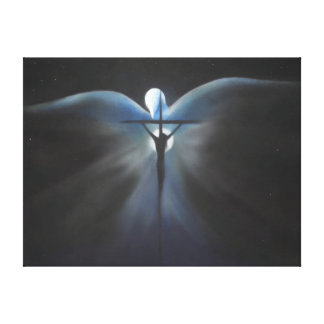 Crucifixion of Christ with the Holy Spirit Canvas Print