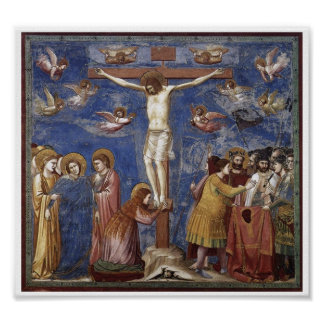 Crucifixion of Jesus Christ Art Poster