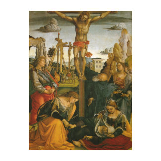 Crucifixion of Jesus Christ Canvas Print