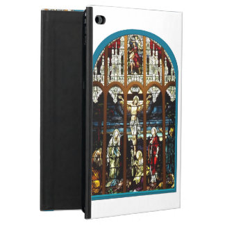 Crucifixion of Jesus Stained Glass Window Powis iPad Air 2 Case